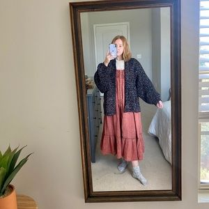 Sparkly One Size Sweater Cardigan